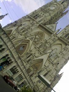 La catedral de Quito