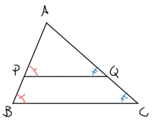 El teorema de Tales